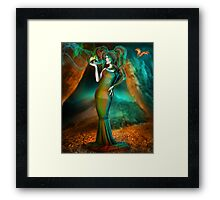 Poisons the very soul of me Framed Print