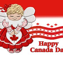 Canada Day Angel by SpiceTree