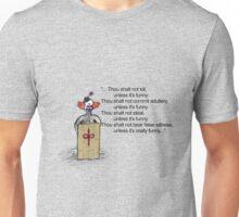 The Clownmandments Unisex T-Shirt