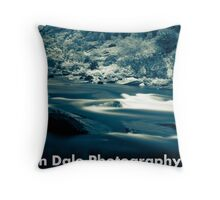 Silken Fluid  Throw Pillow