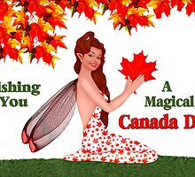 Magical Canada Day by SpiceTree