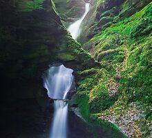 St. Nectan's Glen , Cornwall by Celtic Mystery