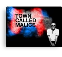 Town Called Malice Canvas Print