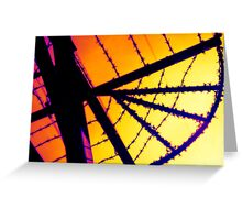 thermal wire Greeting Card