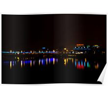 Reflection on Vistula River, Krakow Poster