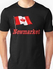 Canada Waving Flag - Newmarket T-Shirt