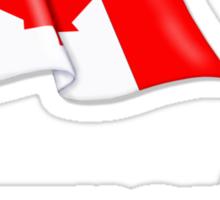 Canada Waving Flag - Newmarket Sticker