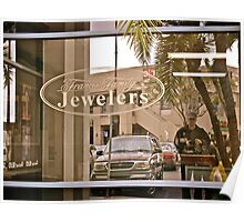 """Moi?"" - Reflection - Francis Family Jewelry - San Diego, CA Poster"
