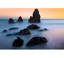 The Dead Sea… High Tide at Rodeo Beach Photographic Print