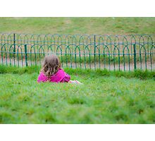 Thoughtful Childhood Photographic Print