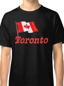 Canada Waving Flag - Toronto Classic T-Shirt