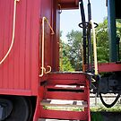 Old Caboose by Laurie Perry