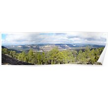 The Natural Park of the Mountains of Cuenca, Spain Poster
