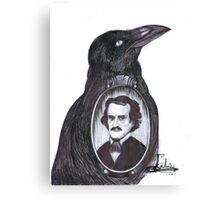 "Edgar Allan Poe ""The Raven"" Canvas Print"