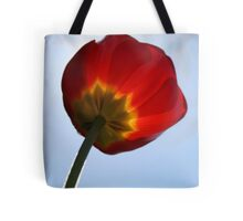 Fuzzy Tulip Tote Bag