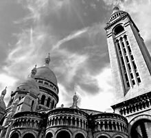 The Sacre Coeur at Montmartre by Alex Cassels