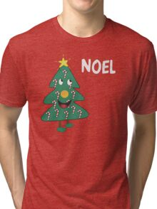 Mac Christmas Noel T-Shirt Tri-blend T-Shirt