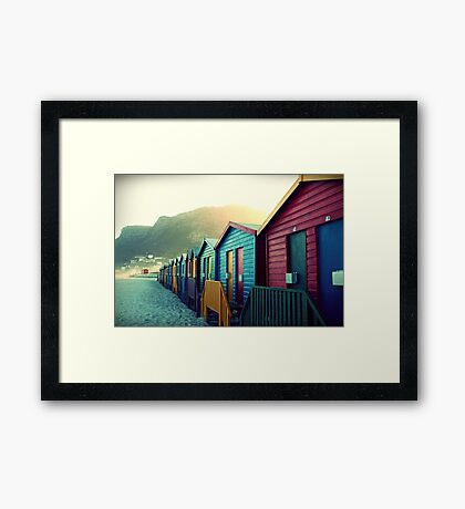 melodies of a weary soul Framed Print