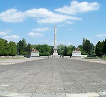 Cemetery the mausoleum Zolnierzy of the Soviet by AnnoNiem
