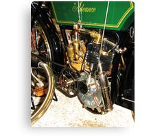 The 1904 Advance Motorcycle Canvas Print