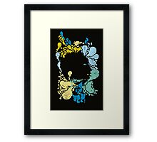 Hermann Rorschach 's little creatures  Framed Print