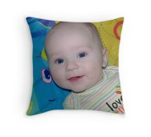 Love That Smile Throw Pillow
