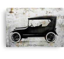 1920 Chevrolet Canvas Print