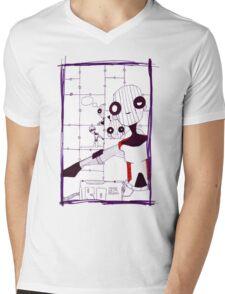 """""""lost"""" Ro 85 Mens V-Neck T-Shirt"""