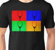 Warhol Style Wine Unisex T-Shirt