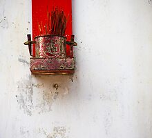 Offering, Hong Kong by Andrea Bell