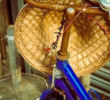 Bike, Hong Kong, China by Andrea Bell