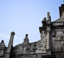 Ruins of St. Paul's, Macau, China by Andrea Bell