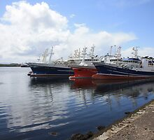 Big Atlantic fishing boat Killybegs Donegal by derek pauley