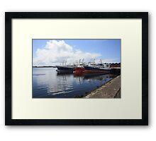 Big Atlantic fishing boat Killybegs Donegal Framed Print