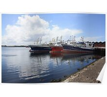 Big Atlantic fishing boat Killybegs Donegal Poster