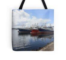 Big Atlantic fishing boat Killybegs Donegal Tote Bag