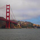 Golden Gate Bridge from South by kevmarcn