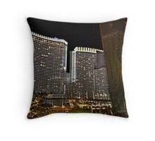 Aria Hotel & Casino, Las Vegas, NV Throw Pillow