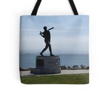 Willie McCovey Statue Tote Bag
