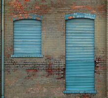 Blue Doors by jrier