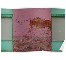 Pink building Poster