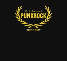 Old School PUNKROCK Since 1977 (in Gold) Unisex T-Shirt