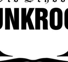 Old School PUNKROCK Since 1977 (in Black) Sticker
