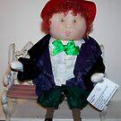 """Patti"", My Red Hat Sociey Little Lady by Deborah Lazarus"