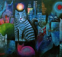 Alley Cats by Karin Zeller