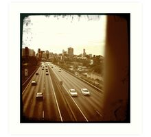 highway memories II Art Print