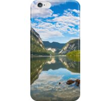 Dramatic Morning at lake iPhone Case/Skin