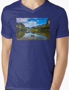 Dramatic Morning at lake Mens V-Neck T-Shirt