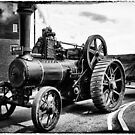 Steam Traction Engine by Peter Tachauer