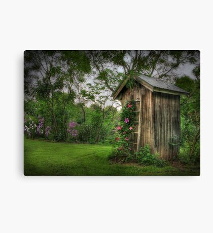 Fragrant Outhouse Canvas Print